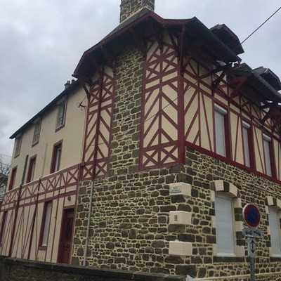 Rénovation maison : joints à la chaux - Saint Malo