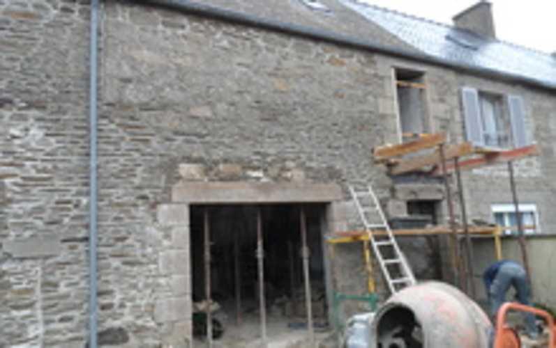 Maçonnerie traditionnelle :ouvertures mur de pierres 0
