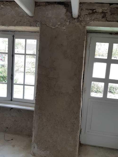 Enduit intérieur à la chaux - St Lunaire 20190604161528