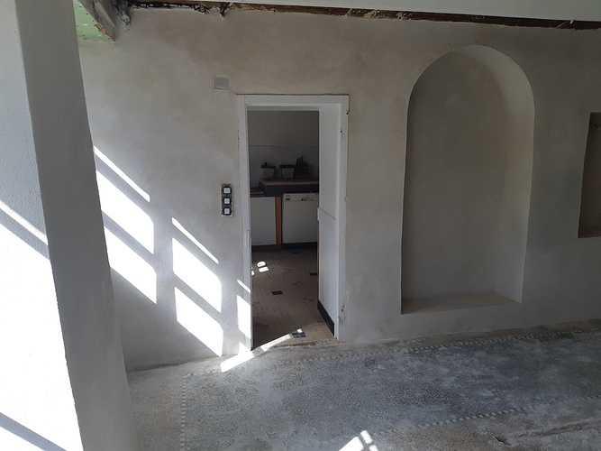 Enduit intérieur à la chaux - St Lunaire 20190614103629