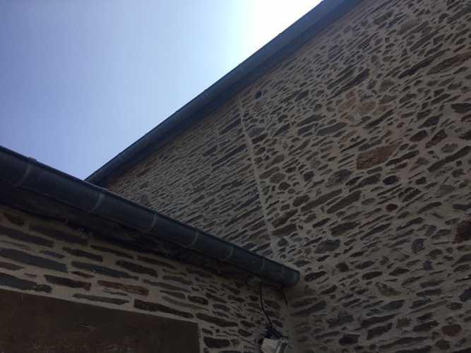 Chantier réfection joints à la Chaux - Domaine situé à Pleurtuit (35) img1581