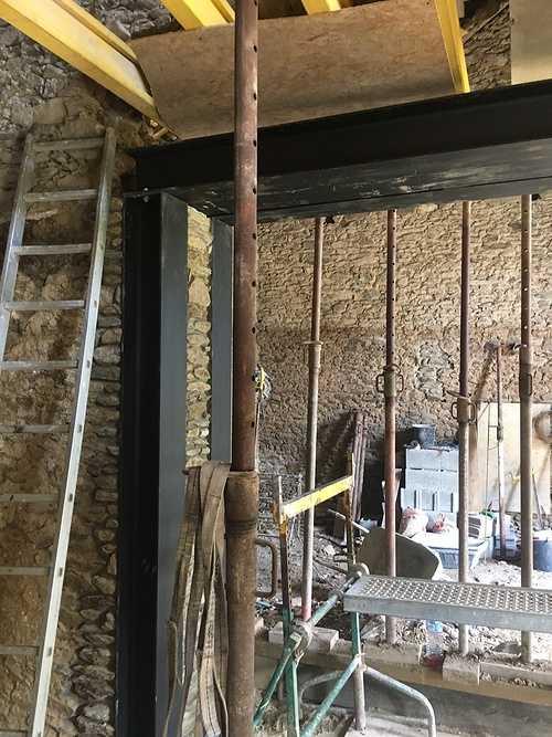 Rénovation et extension d''une maison en pierre 0