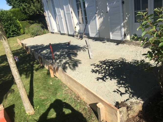 Démolition et création d'une nouvelle terrasse- Saint-Briac 0