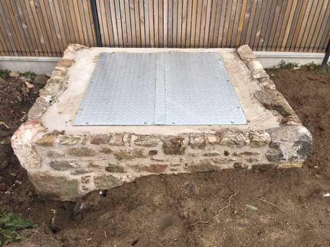 Réparation et sécurisation de puits en pierre - Saint-Malo img2155